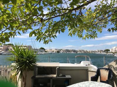 Marina Port Camargue 3 pièce(s) en rez de chaussée et plan d'eau large